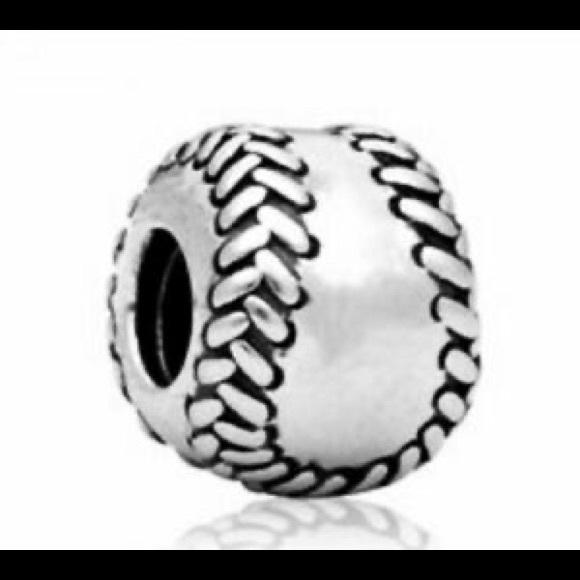 Pandora baseball ball charm